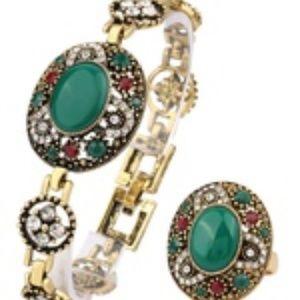 Jewelry Sets Turkish Design Bangle Bracelets Finge